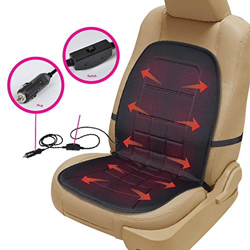 Bdk Travel Warmer Pair 2 Heated Seat Cushions Covers 12