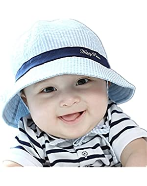 Toddler Infant hats,Unisex Baby Kid Child Summer Sun Protection Outdoor Beach Bucket Cap Hat for 0-3-6-12 months