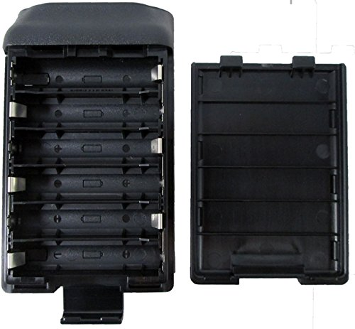 Icom Alkaline BP240 battery case (holds 6 AA batteries) for Icom F3011 F4011 F3021 F4021 F3031 F4031 F14 F24 and more