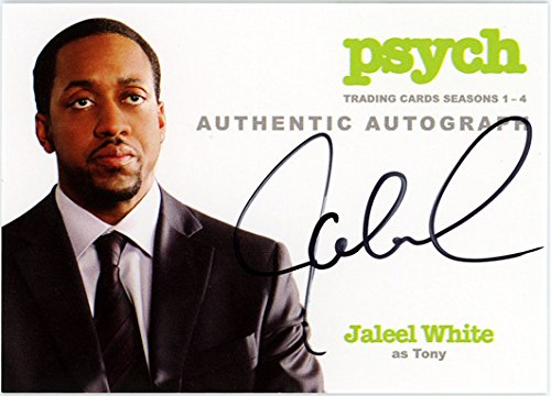 Psych Seasons 1-4 Autograph of Jaleel White as Tony: Trading Card - Auto A12 ()
