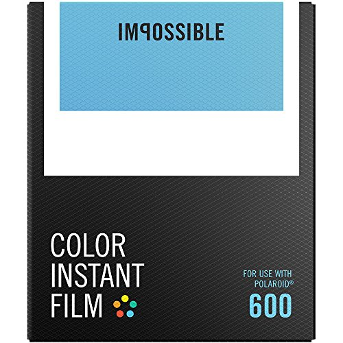 Impossible Instant Color Film for Polaroid 600 Cameras - 2 Pack