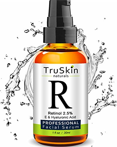 TruSkin RETINOL Serum for Wrinkles, Fine Lines, contains Vit