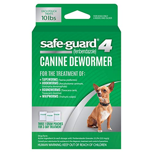 8in1 Safe-Guard Canine Dewormer for Small Dogs, 3 Day Treatment