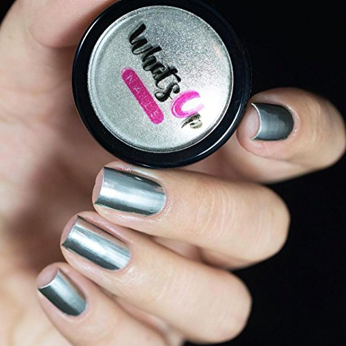 Chrome Nail Powder Cnd: Chrome Powder For Mirror Nails