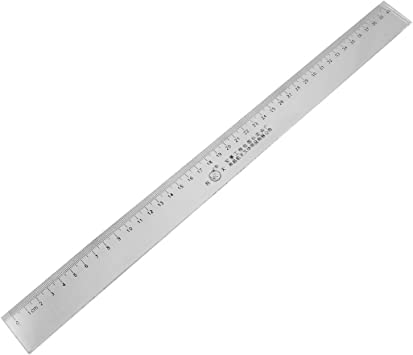 Uxcell 40cm Clear Plastic Measuring Long Straight Centimeter Ruler Construction Rulers Amazon Com