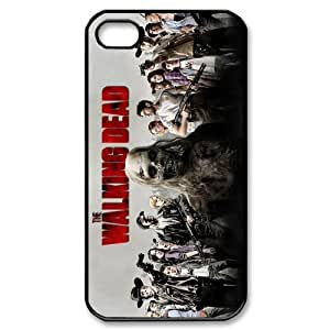 Custom Walking Dead Cover Case for iPhone 4 4s LS4-4284