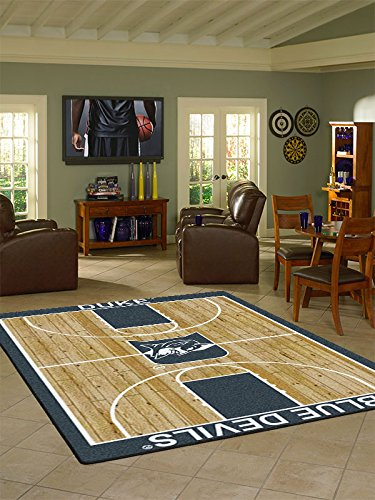 Duke College Home Basketball Court Rug: 54