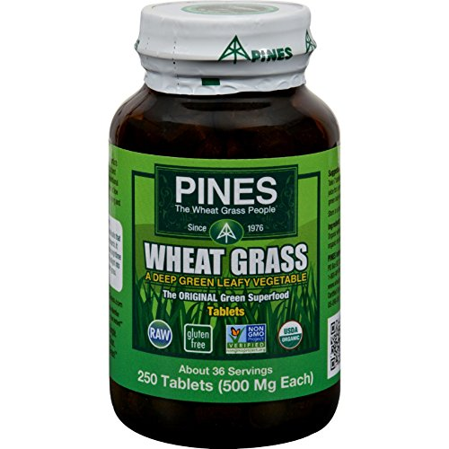Pines International Wheat Grass - 500 mg - 250