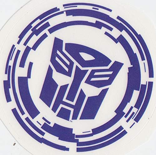 3 Inch Autobot Emblem Decal Symbol Badge Insignia Logo Transformers Age of Extinction Robots Removable Peel Self Stick Adhesive Vinyl Decoration Wall Sticker Art Kids Room Home Decor Boy 3x3 Inch