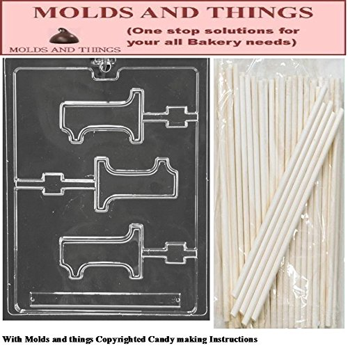 number 1 candy mold - 2
