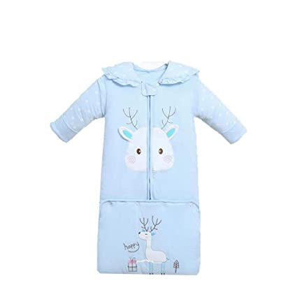 Gleecare Saco de Dormir para bebé,Otoño e Invierno algodón recién Nacido recién Nacido Gruesa
