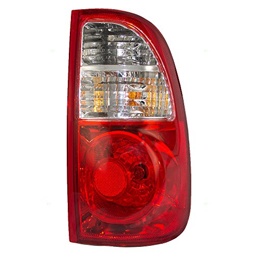 Light Tail Toyota Lens - Passengers Taillight Tail Lamp with Clear & Red Lens Replacement for Toyota Pickup Truck 815500C060 AutoAndArt
