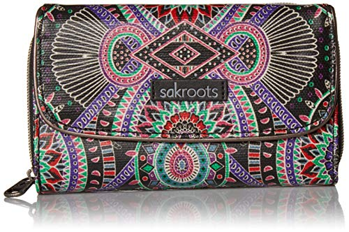 Sakroots Unisex-adults Artist Circle Extra Large Wallet, for sale  Delivered anywhere in USA