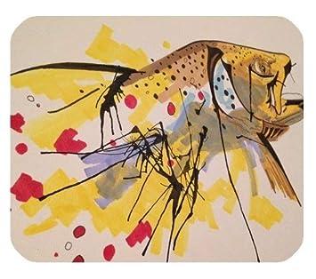 Fliegender Fisch. Einzigartige Benutzerdefinierte Mauspad Mousepad