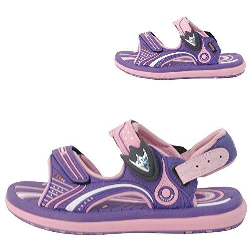 - GP Kids Classic SNAP Lock Sandal: 8669 Pink & Purple, EU31 (Old EU32)