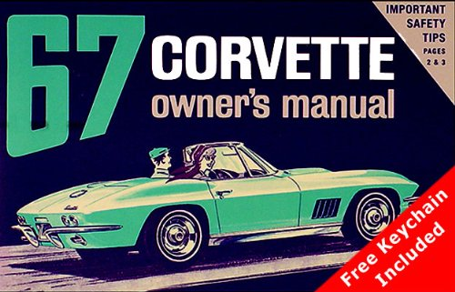 1967 Corvette Owners Manual (with Key Chain)