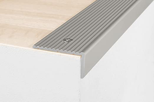Mamperlán 90 cm / Perfil angular, 20 x 40 mm, aluminio anodizado - color: plateado: Amazon.es: Hogar
