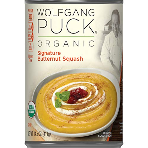 (Wolfgang Puck Organic Signature Butternut Squash Soup, 14.5 oz. Can)
