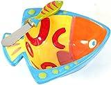 Boston Warehouse Go Fish Dip Bowl and Spreader Set