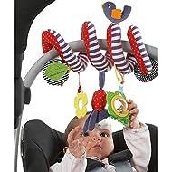 BeeSpring Kid Baby Crib Cot Pram Hanging Rattles Spiral Stroller Car Seat Toy