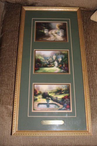 Beyond Autumn Gate (Thomas Kinkade Autumn Gate and Beyond Trio Framed Accent Prints With COA)