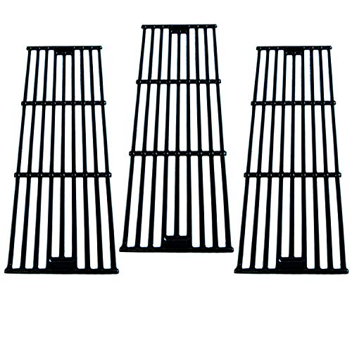 Direct store Parts DC114 (3-Pack) Porcelain Cast Iron Cooking Grid Replacement Chargriller, King Griller Gas Grill (3) (Char Griller Parts)