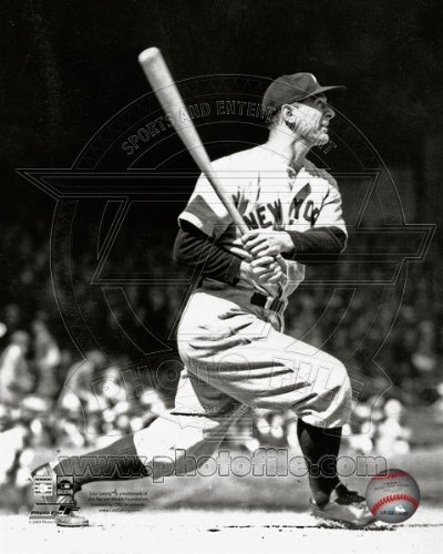 (Lou Gehrig New York Yankees 1935 MLB Action Photo 8x10)