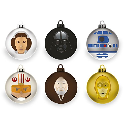 Star Wars A New Hope Christmas Tree Ornaments (6 pack)