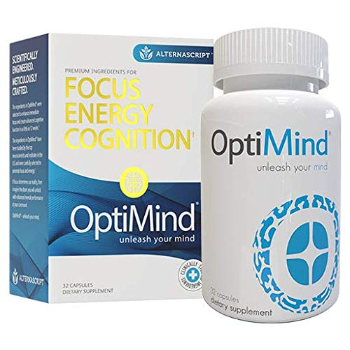 OptiMind Alternascript, Nootropic Brain Booster Supplement, Enhance...