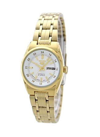 77ac7c7ee Image Unavailable. Image not available for. Color: SEIKO 5 Automatic watch  SYMC02J1 Ladies
