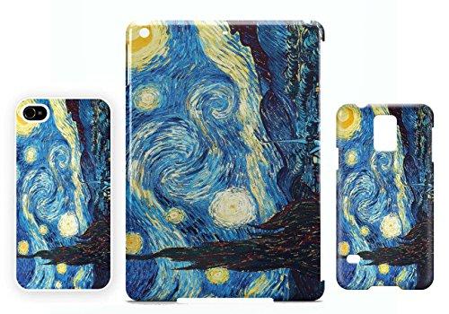 Starry Night Vincent Van Gogh iPhone 4 / 4S cellulaire cas coque de téléphone cas, couverture de téléphone portable