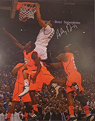 Anthony Davis · Hand Signed 16x20 Poster w/ COA
