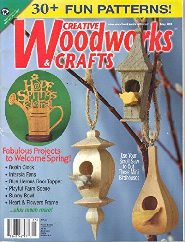 Creative Woodworks & Crafts Magazine, May 2011 (No. 156)