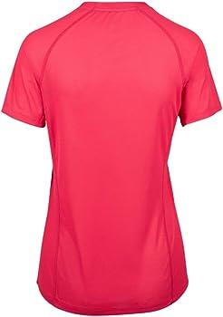 ae2403cf6c Merrell Entrada II Short Sleeve Wicking Tech Tee Women M - red at ...