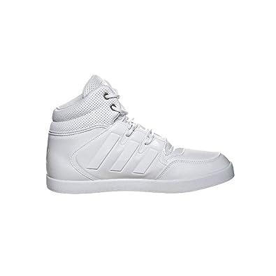 adidas Hohe Schuhe DROPSTEP monochrom weißes Leder M18025