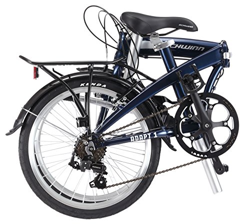Adapt 1 7 Speed Folding Bike Gloss Navy 16 One Size 20