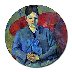 Amazon.com : Potrait of Madame Cezanne in Red Armchair by ...