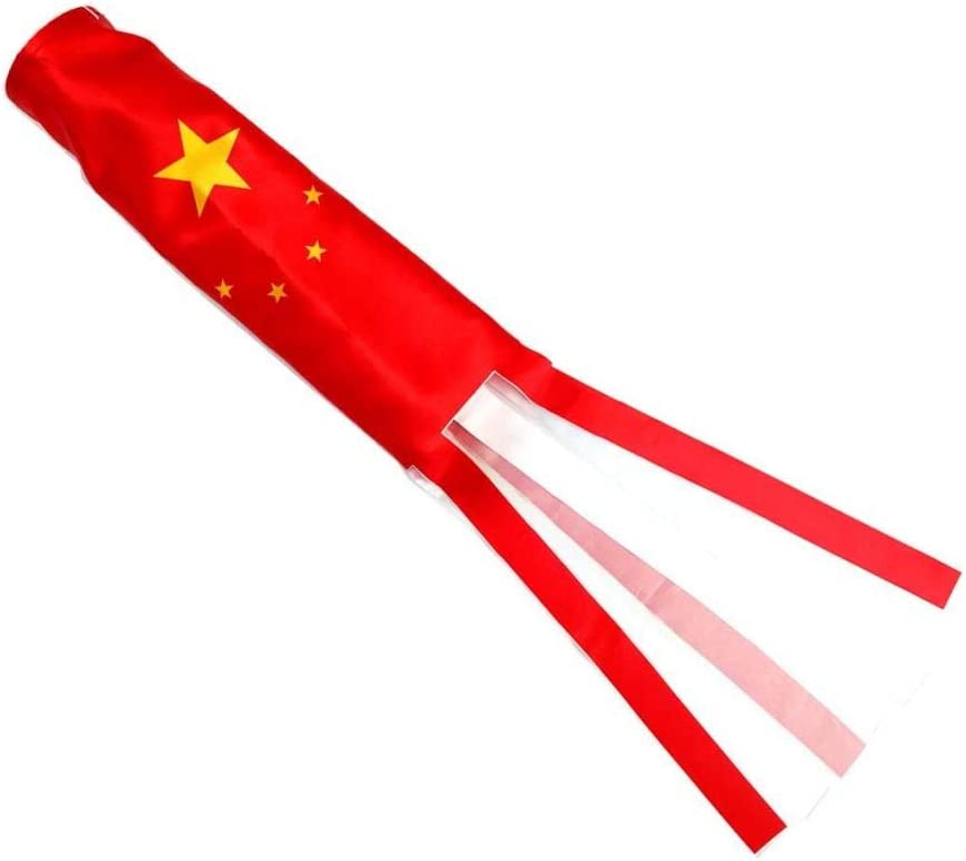 Wetterfest 70cm China LOVIVER Dekorativer Windsack im Freien