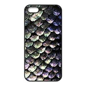 Hellocase Durable Protective TPU Rubber Fitted Cover Case for iPhone 4s , Fashion Mermaid Scales