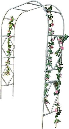 XLOO Garden Arbor Pergola Arch para Plantas trepadoras, Arcos Interiores y Exteriores, Varios tamaños, tubería de Acero Engrosada, a Prueba de Herrumbre, Resistente a la corrosión.: Amazon.es: Hogar
