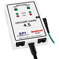 Desco 94390 Ground Gard 4.5 Dual Operator Constant Grounding Monitor with Buzzer, Building Ground