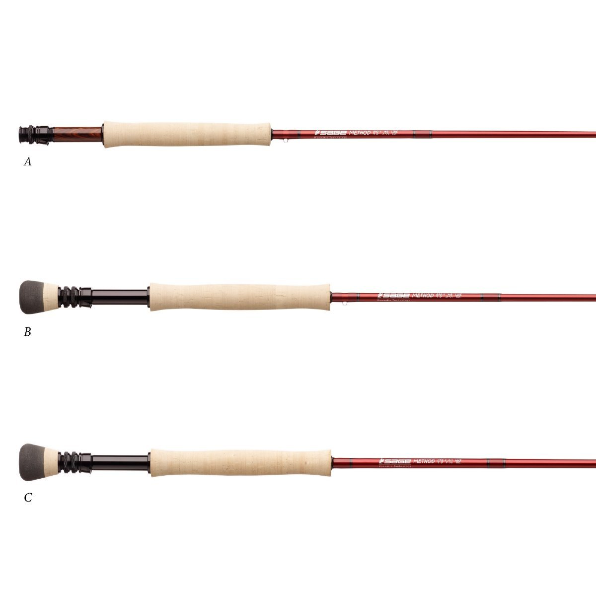 Sage Fly Fishing Fly Fishing 490-4 Method 4WT 9 L Rod Piece 4