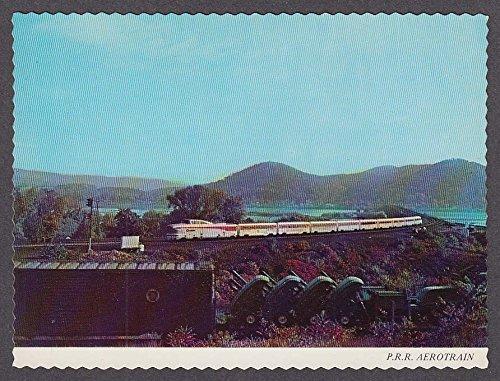 - PRR Aerotrain Pennsylvania Railroad postcard 1960s
