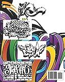 Graffiti Coloring Book: Best Street Art Coloring