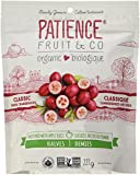 Patience Fruit & Co Organic Classic Dried Cranberries, Sweetened with Apple Juice, 227 Grams
