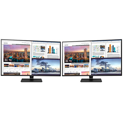 "Price comparison product image LG 43UD79-B 43"" 4K Ultra HD IPS LED Dual Monitor Bundle"