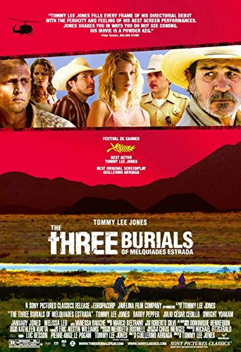 THE THREE BURIALS OF MELQUIADES ESTRADA (2005) Original Authentic Movie Poster 27x40 - ROLLED - Single - Sided - Tommy Lee Jones - Barry Pepper - Dwight Yoakam - January Jones