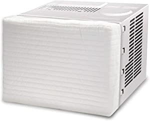 BullStar Indoor Air Conditioner Cover Window Unit AC Cover Double Insulation, M-21x14x3inch
