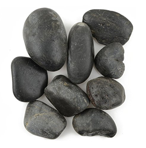 Compare Price To Polished Black Stones Dreamboracay Com