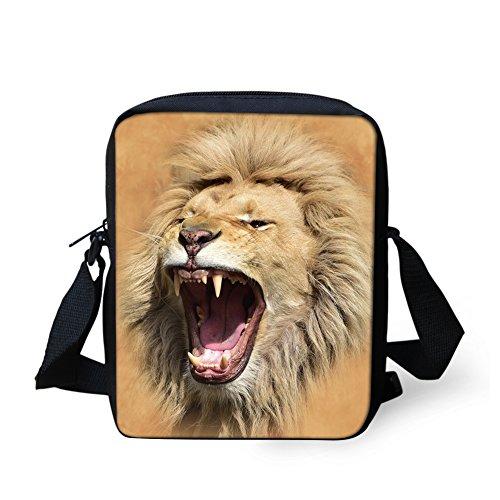 Bag Handbag Cell Monkey IDEA Phone Women Body Print HUGS Cross Lion2 Girl Mini Shoulder Bag Adjustable Pouch Strap Y0dFgq
